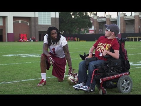 Payton - Courtesy of Seminole Productions: Payton Poulin is not only a part of the Florida State family, he's a symbol of hope and what it means to persevere against ...