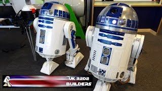 XRobots - Exhibiting With The UK R2-D2 Builders At Winchester Science Centre