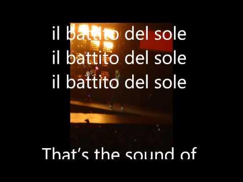 , title : 'sound of sunshine-Jovanotti ...... con testo'