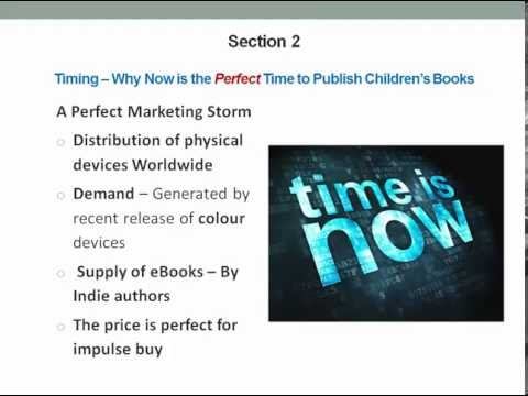 How to Self Publish Children's Books on Kindle