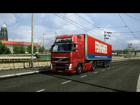обзор Euro Truck Simulator 2 (Steam Gift, Region Free)