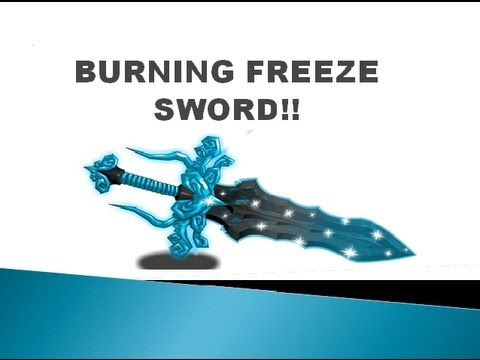 =AQW= How to get The Burning Freeze Sword!