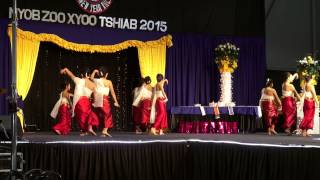 Sacramento Hmong New Year 2014 2015  Hmong Dancer
