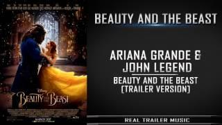 Beauty and the Beast Final Trailer Music #2   Ariana Grande  John Legend - Beauty And The Beast
