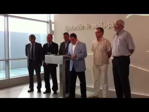 Elías Bendodo presenta la I fase del nuevo proyecto del Caminito del Rey