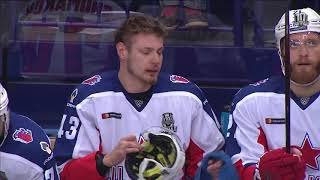 2018 Gagarin Cup Final. CSKA 1 Ak Bars 2 (Series 0-1) 14 April 2018