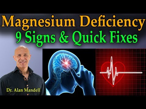 9 Signs of Magnesium Deficiency & Quick Fixes - Dr Mandell (видео)