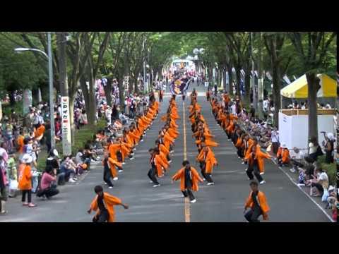 川越市立高階中学校 桜踊華 彩夏祭 2014 流し