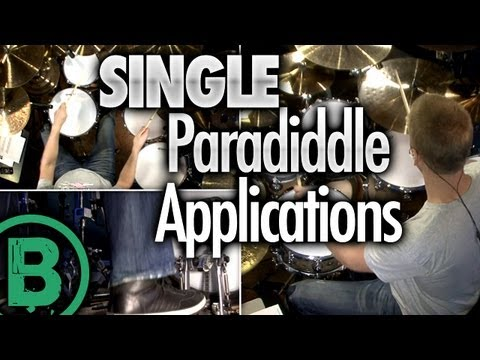 Single Paradiddle Applications