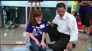 Fox 13 TV - Highlights FLATE Middle School Robotics Program