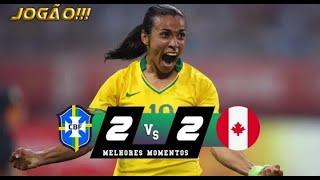 Brasil 2 x 2 Canadá