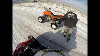 7. 2014 yamaha yfz 450 r se riding