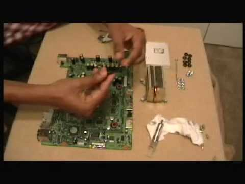 Fix an xbox 360 with Red Ring Of Death ~ e74 ~1 red light — PART 1