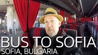 Sofia Bulgaria  City new picture : Bus Skopje Macedonia to Sofia Bulgaria
