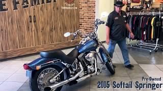 9. 2005 Harley-Davidson Softail Springer FOR SALE in FLORIDA