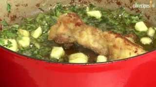 Pollo al ajillo (Spaanse kip met knoflook)
