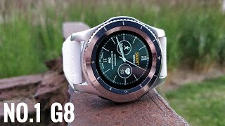 The review of the No. 1 G8 Smartwatch.Find this at Banggood: http://fas.st/7_BS7 -                        Gearbest: http://bit.ly/2t4A9yj -                   Geekbuying: http://fas.st/qHk1f -                         Amazon: http://geni.us/a5VnyW The No.1 G8 Smartwatch is a brand new watch from No.1. generally their smartwatches are cheap and they offer great value. It is the same with this one, a very low price and a lot of value. The most notable feature for this watch is the battery life. This have been vastly improved and now you can get up to 4 days one one charge.