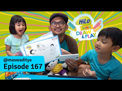 Nyobain Serunya Main Augmented Reality Game Hilo School Draw & Play!