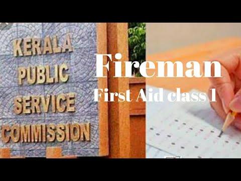 First aid class part 1