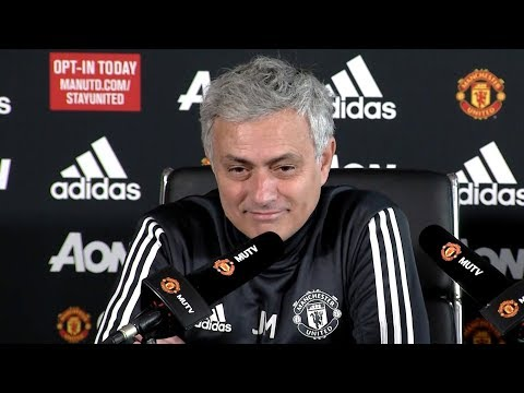 Jose Mourinho Full Pre-Match Press Conference - Manchester United v Liverpool - Premier League (видео)