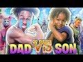 1v1 AGAINST MY SON?! FATHER vs SON! *EMOTIONAL ENDING* Fortnite: Battle Royale