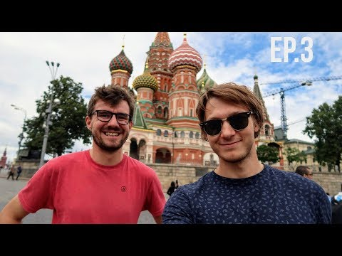 Best (& free) view of Moscow (HONEST VLOG) (видео)