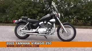 6. Used 2005 Yamaha Virago 250 Motorcycles for sale