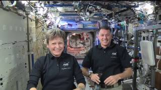 Space Station Crew Discusses Life in Space with Fox News by NASA