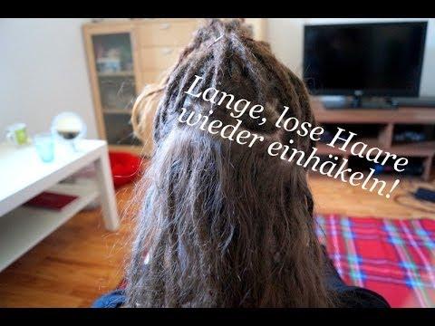 Dreadlocks | Lange, lose Haare am Ansatz