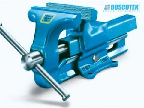 Bench Vice | Workshop Equipment | Boscotek Industrial Storage Video Image