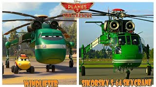 Disney Planes 2 Fire & Rescue Characters in Real Life