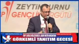 CHP 2 Bölge Milletvekili A Adayı Metin Doğan'dan Görkemli Gece 2