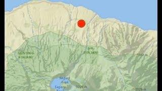 Video MAJOR Earthquake/Possible Tsunami in Pacific Ring of Fire - Mt Rinjani MP3, 3GP, MP4, WEBM, AVI, FLV Desember 2018