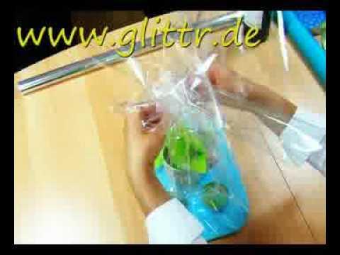 Geschenke einpacken zB Tasse
