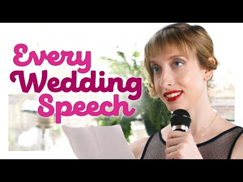 Download Every Wedding Speech Ever | CH Shorts HD Mp4 3GP Video and MP3