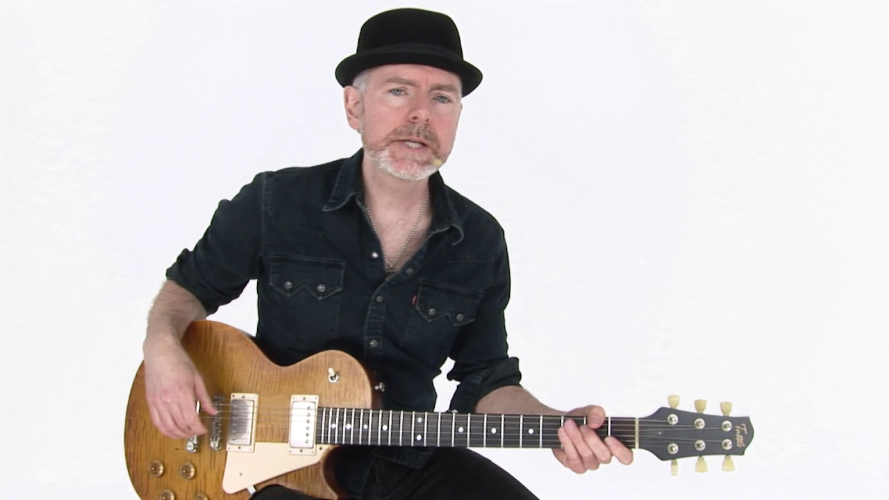 Blues Rhythm Guitar Lesson – Shake A Little Breakdown – Jeff McErlain