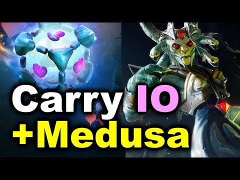 Crazy Carry IO + Medusa COMBO! - Malaysia vs Australia WESG 2018 DOTA 2