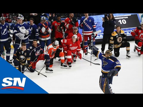 2020 NHL All-Star Skills Competition Save Streak