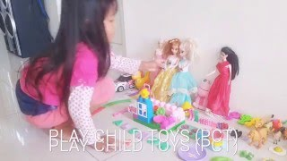 BERMAIN BONEKA BARBIE ❤ COOKING ❤ PLAY DOH ❤ KAPAL❤ BINATANG ❤PCT TOYS Play child toys with doh , barbie, puzzle, cooking set, lego etc / bermain mainan anak...