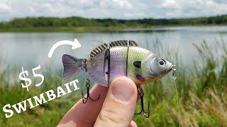 Video CHEAP Swimbait Fishing Challenge (Bass LOVE them!) ft. fishingwithnorm MP3, 3GP, MP4, WEBM, AVI, FLV Agustus 2018