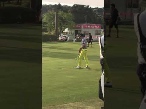 石川遼 東建ホームメイトカップ 開幕戦 単独首位の一方で、韓国塵選手の …
