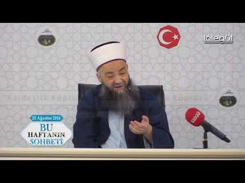 18 Ağustos 2016 Tarihli Bu Haftanın Sohbeti Cübbeli Ahmet Hocaefendi