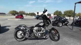 1. 052260 - 2013 Harley Davidson Softail Blackline FXS - Used Motorcycle For Sale
