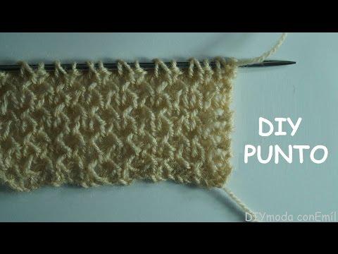 un nuovo punto lavorato a maglia