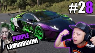 Video Purple Lamborghini Joker - Forza Horizon 3 Indonesia #28 MP3, 3GP, MP4, WEBM, AVI, FLV November 2017