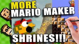 MARIO MAKER + BREATH OF THE WILD?! More BotW Shrines in Super Mario Maker | The Basement