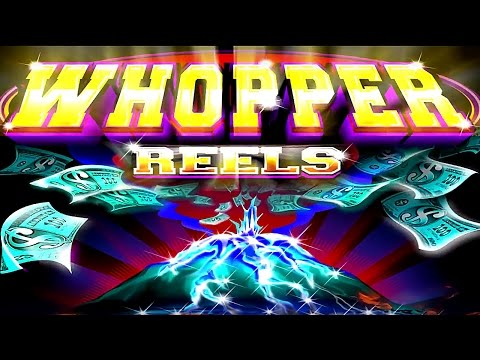 Whopper Reels Pure Platinum Slot - NICE BONUS - Short & SWEET!