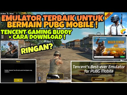 Coba Main PUBG MOBILE Di Emulator Resmi TENCENT ! + Cara Download Emulator Tencent Gaming Buddy