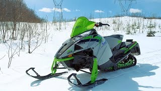 4. Full REVIEW: 2018 Arctic Cat ZR 8000 137