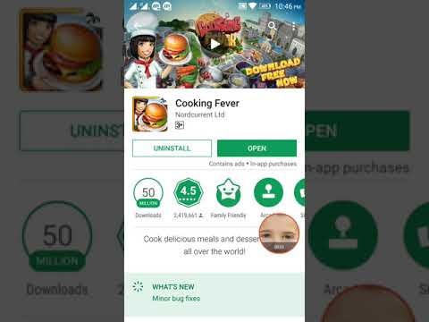 How To Uninstall Or Update Cooking Fever Latest Version Pro App?